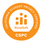 California Student Privacy Certified. IKeepSafe. CSPC.